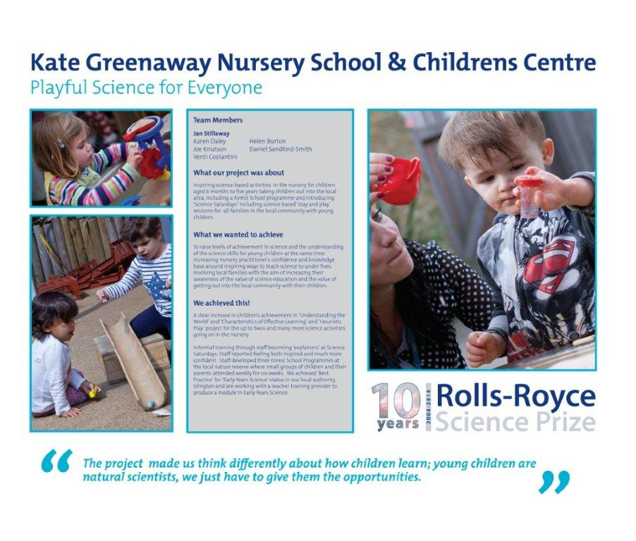 Kate Greenaway Nursery Playful Science for Everyone