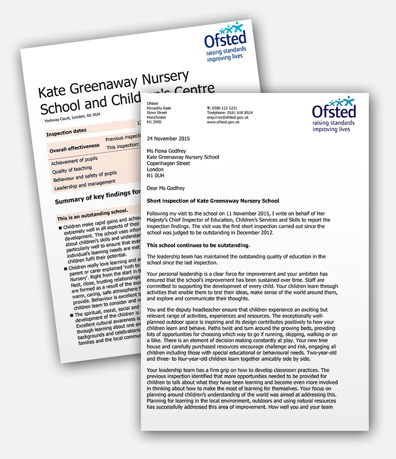 Kate Greenaway Ofsted Reports