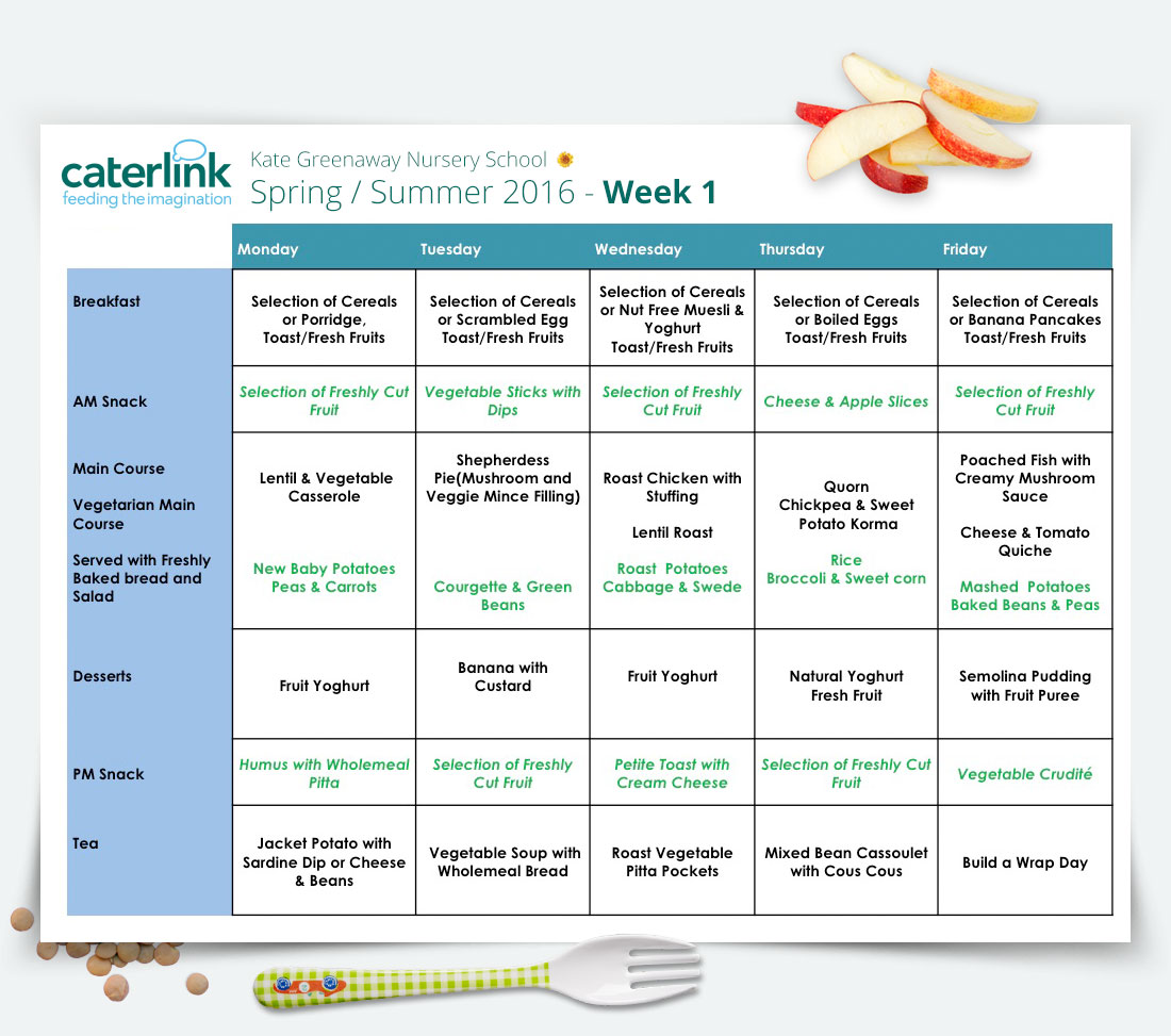 kate greenaway nursery food nutrition menu 03